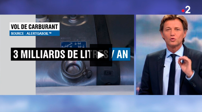20h de France 2 : « 3 milliards de litres / an »